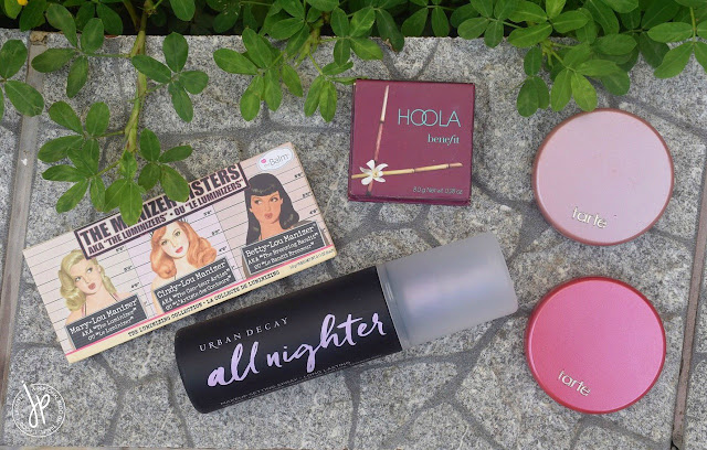 Holy grail face makeup for combination skin - The Manizer Sisters, Hoola, Amazonian Clay 12-Hour Blush, All Nighter