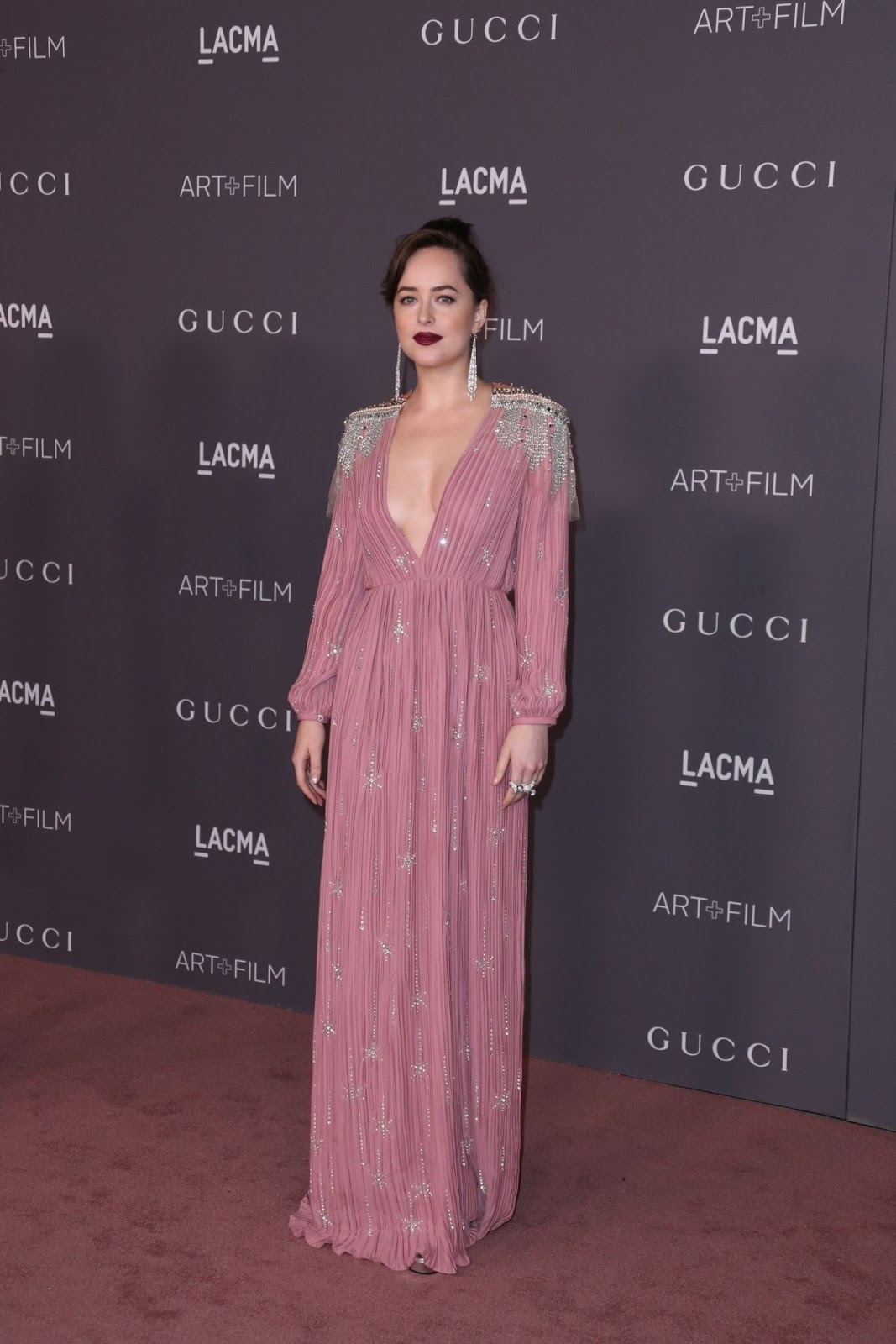 Dakota Johnson – 2017 LACMA Art and Film Gala in Los Angeles