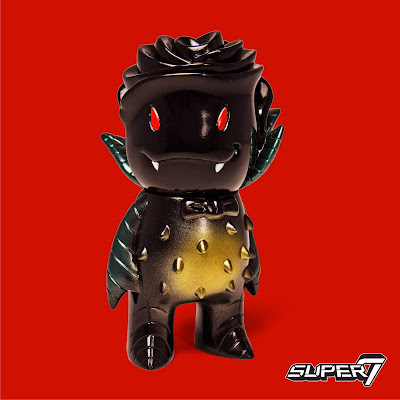 "Designer Con 2017 Exclusive ""Midnight Monster"" Rose Vampire Vinyl Figure by Josh Herbolsheimer x Super7"