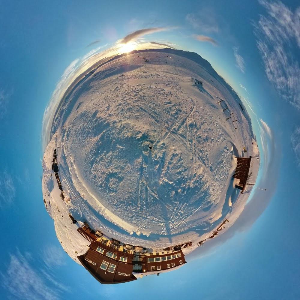 Greenland On Polar Stereographic Projection – Jerusalem House