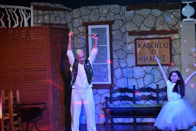 """Επαναλαμβάνεται η θεατρική παράσταση """"Η Λέσχη των Μαύρων Χηρών"""" στο Ναύπλιο για καλό σκοπό"""