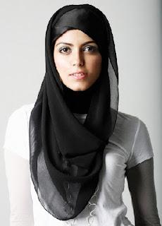 Model Memakai Jilbab