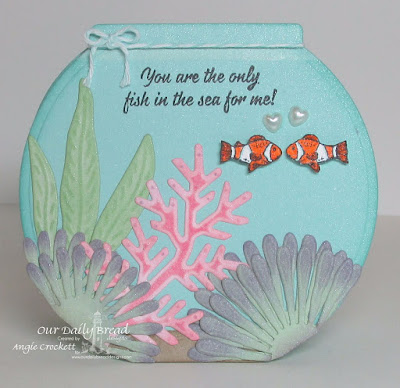 ODBD Deep Waters, ODBD Custom Asters and Leaves Dies, ODBD Custom Fancy Foliage Dies, Card Designer Angie Crockett