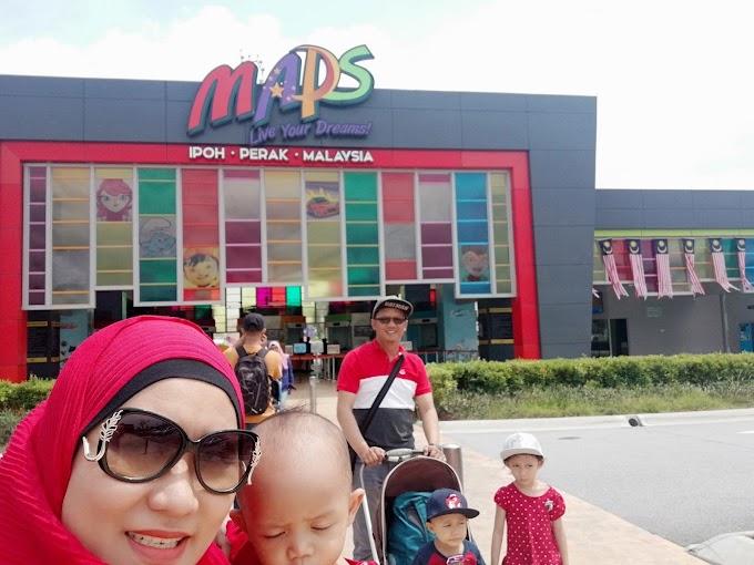 Travel dan Holiday di MAPS Movie Animation Park Studios Ipoh Perak Tempat Menarik di Ipoh