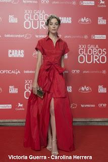 Victoria%2BGuerra%2B %2BCarolina%2BHerrera - GLOBOS DE OURO - PORTUGAL 2016