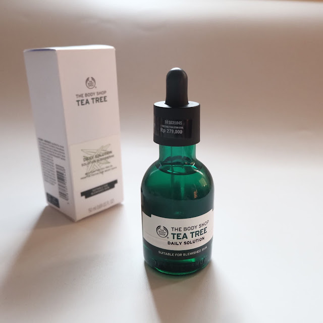 tea tree daily solution the body shop