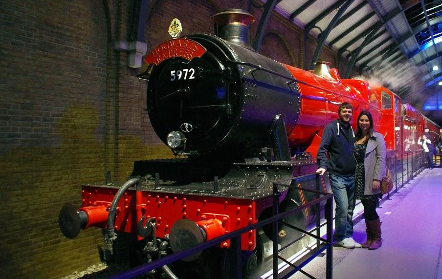 Hogwarts Express Warner Brothers Studio Tour