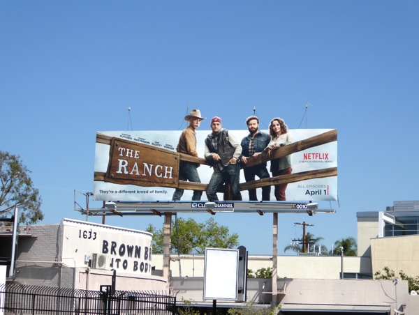 The Ranch season 1 billboard