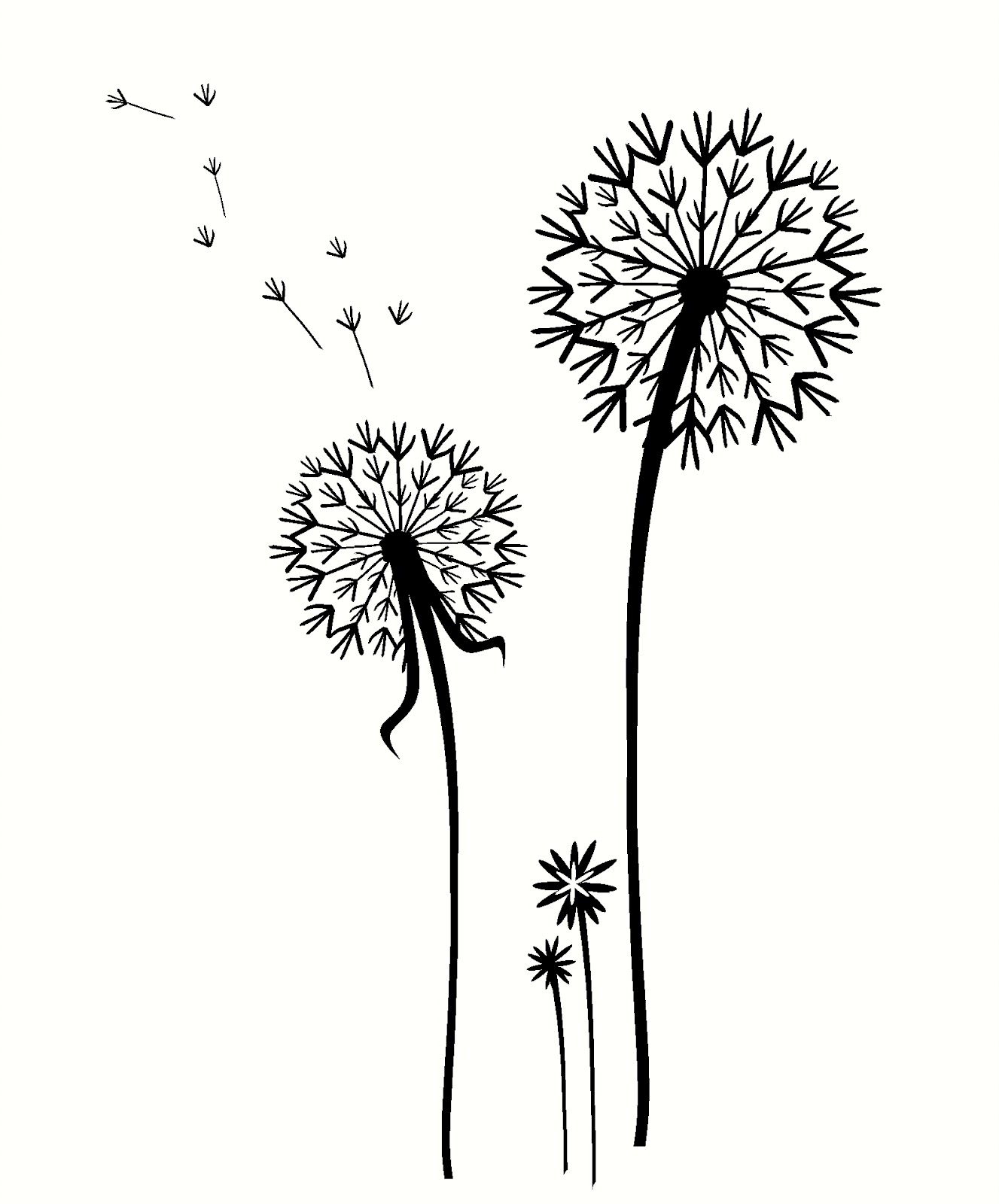 Decorating with Wall Vinyl: Dandelion Wall Stickers - Fun ...