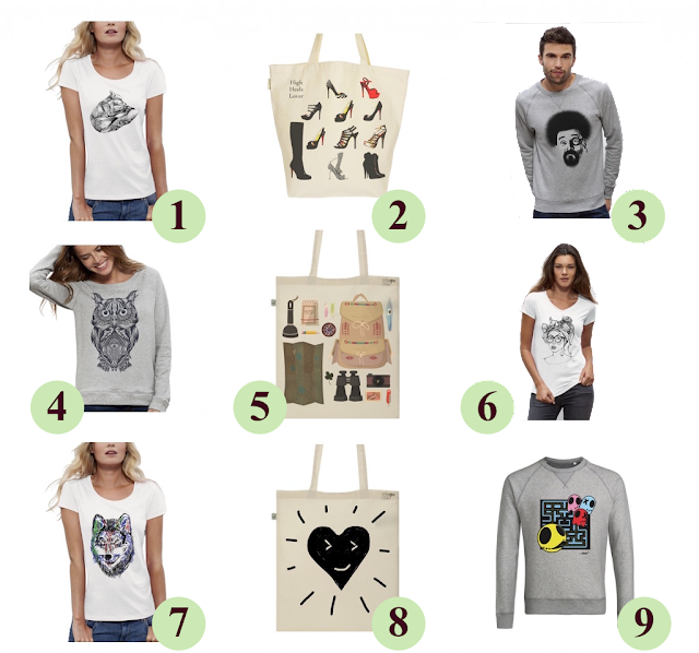 tshirt Sweat Totebags Bio - ArteCita ECOFashion