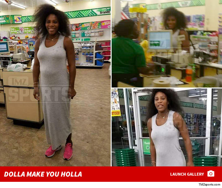 Dollar Tree Store: StarrLab: Serena Williams Is Just Like Us!! She Shops In