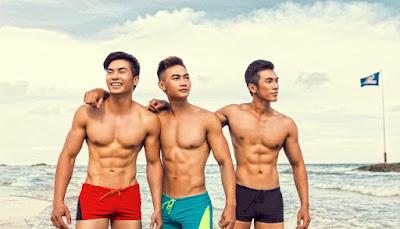 Quần bơi nam đẹp 056 giá rẻ