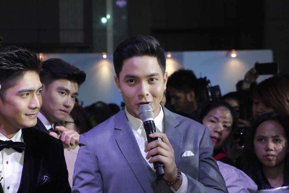 Alden Richards and Robi Domingo (left) for OPPO F3 Plus.