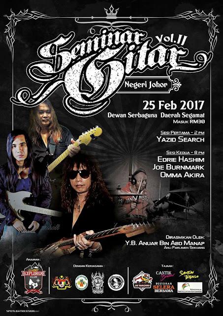 Event Seminar Gitar Negeri Johor Part 2 | 25 Feb 2017
