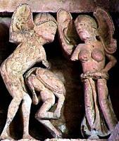 Orejones en la Basílica de Vézelay