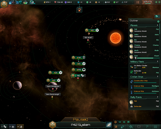 Home World | Stellaris Screenshot