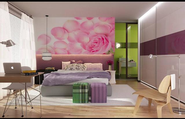 Disenos Dormitorios con Colores Femeninos