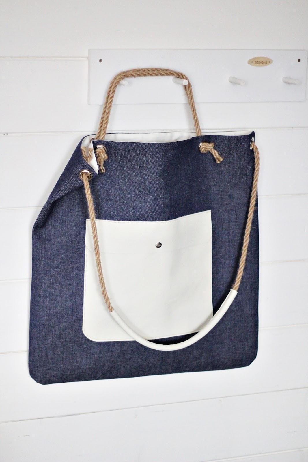 8046e4269b554 SeeHome Shop: Torba Xl.Duża torba.Torba dżinsowa