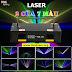 Đèn Laser Light 7 Màu 2 Cửa Siêu Ảo