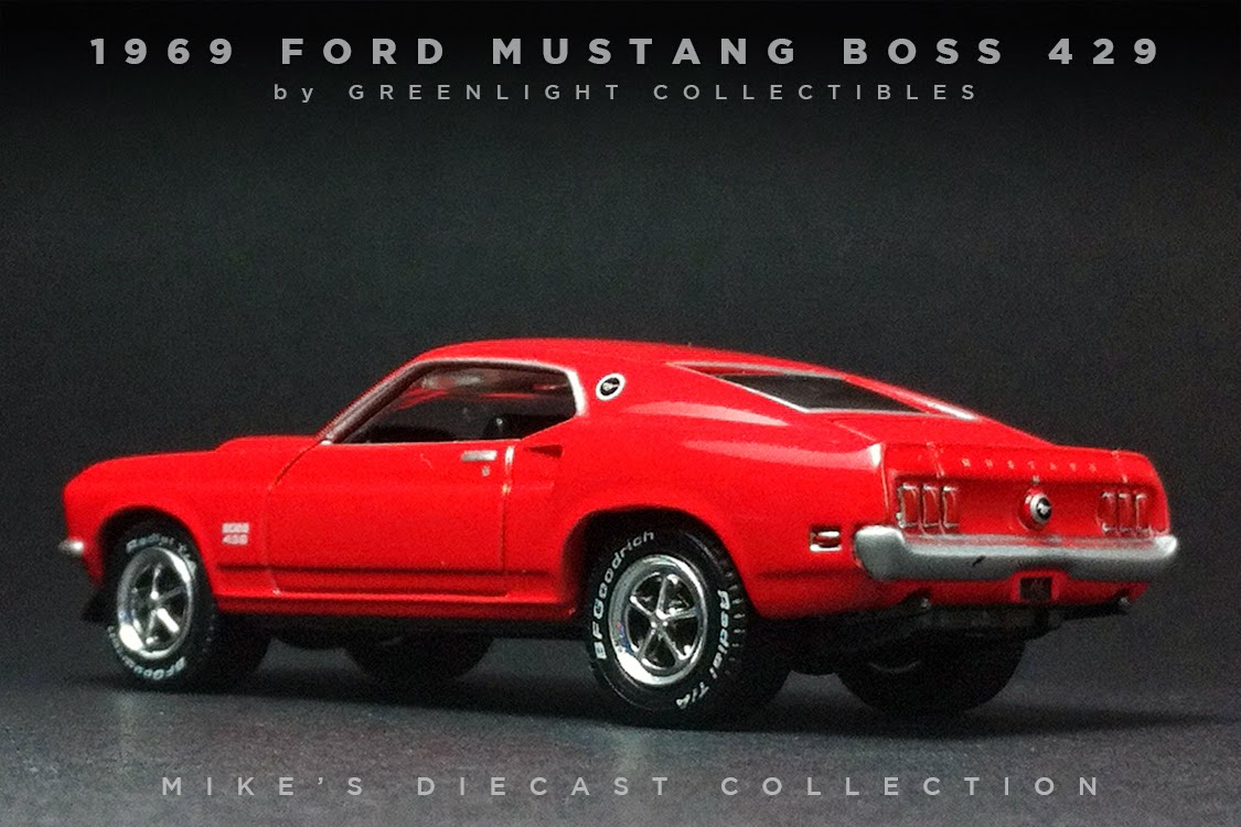 mike 39 s diecast collection 1969 ford mustang boss 429. Black Bedroom Furniture Sets. Home Design Ideas