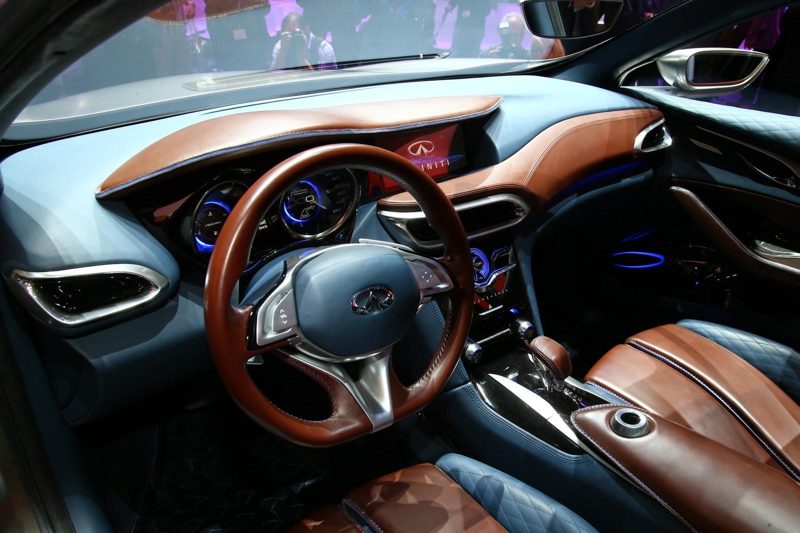 модельный ряд автомобилей Infiniti и цены в России