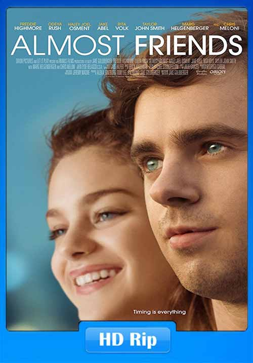 Almost Friends 2016 720p WEB-DL 800MB Poster
