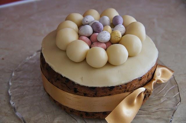 Simnel cake un dessert de Pâques américain (lancaster)