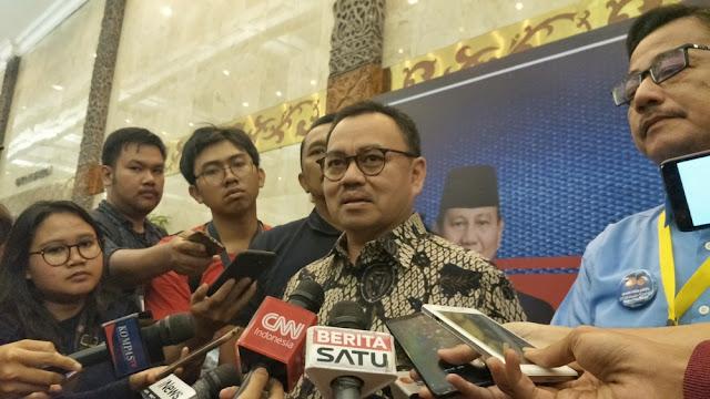Prabowo-Sandi Terlampau Santun, BPN Bakal Meminta KPU Tidak Bocorkan Pertanyaan