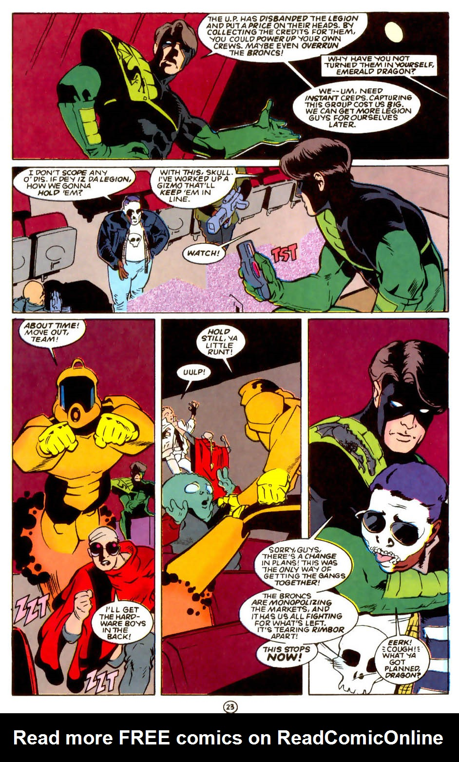 Legion of Super-Heroes (1989) 55 Page 22
