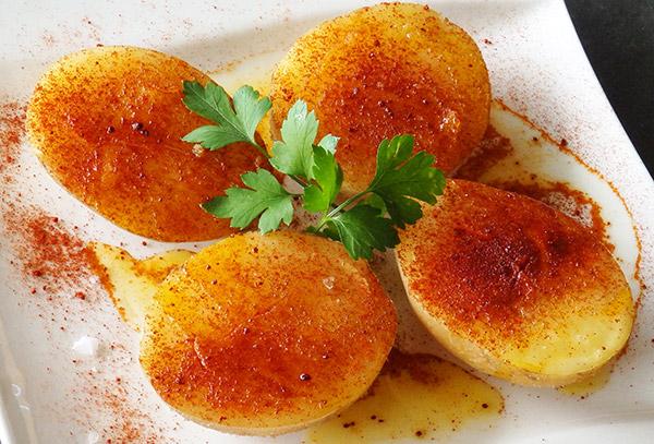 Patatas aliñadas al estilo leonés