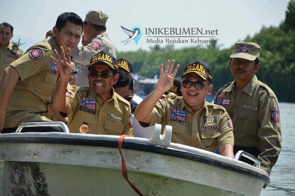 "Mensos Minta Tagana Indonesia jadi ""Front Liner"" Penanggulangan Bencana"