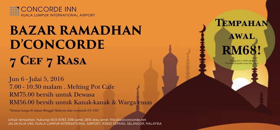 Buffet Ramadhan Selangor 2016 Harga Dan Lokasi