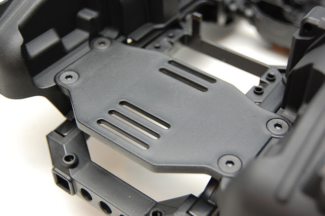 Traxxas TRX-4 front electronics tray