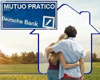 mutuo pratico deutsche bank in promozione