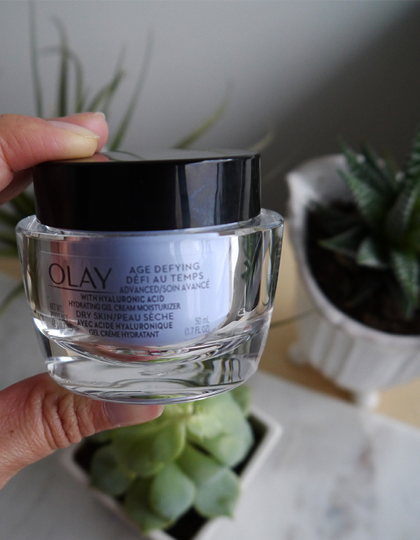 Olay Age Defying Advanced With Hyaluronic Acid Hydrating Gel Cream Moisturizer