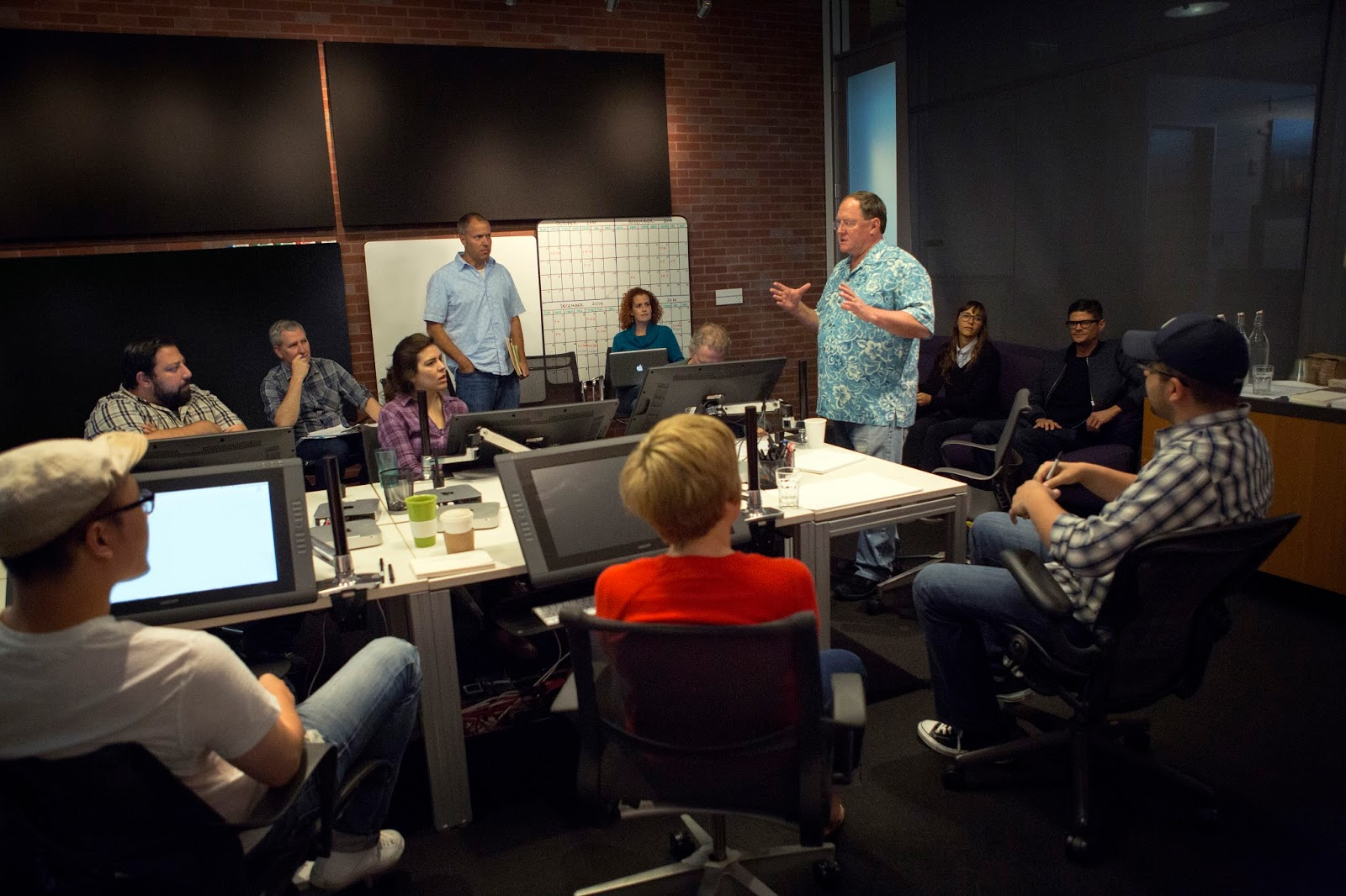 Director John Lasseter Toy Story 4 release on June 16, 2017. (Photo by Deborah Coleman / Pixar)