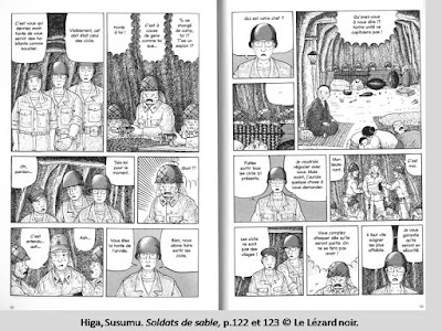 Higa, Susumu. Soldats de sable, p.122  © Le Lézard noir