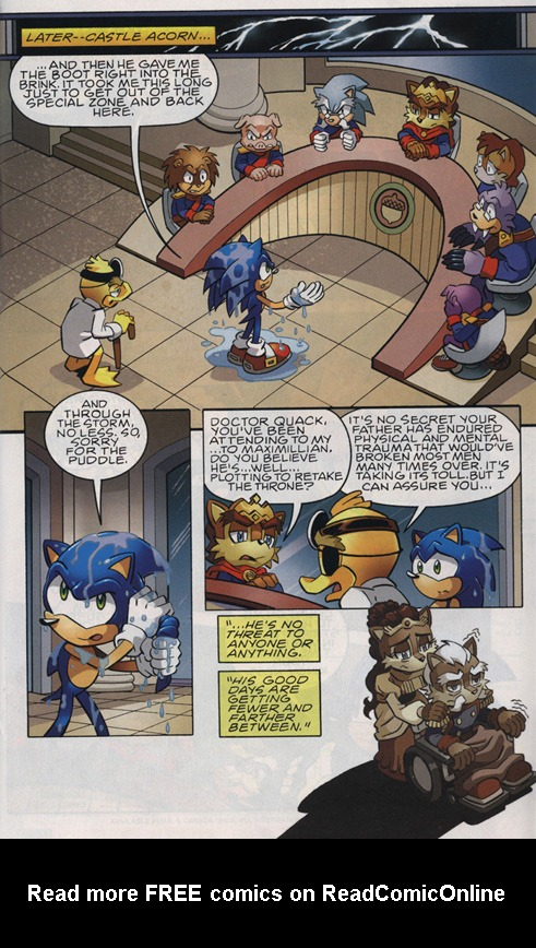 Read online Sonic The Hedgehog comic -  Issue #220 - 13
