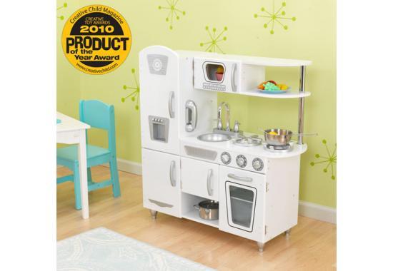 Kidkraft White Vintage Retro Play Kitchen