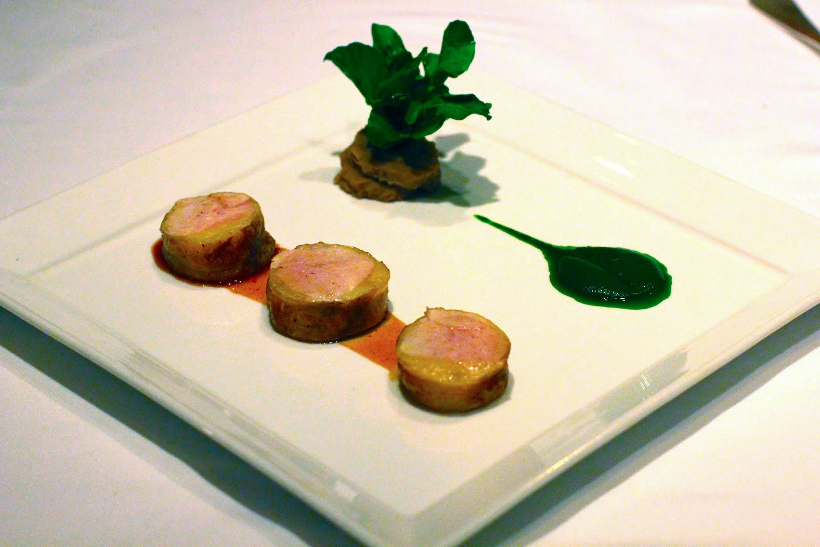 Canape Design Hawaii Aloha Is What S For Dinner At Chef Mavro In Honolulu Hawai I