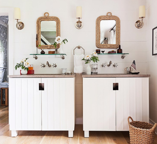 Coastal Nautical Bathroom Ideas at One Kings Lane