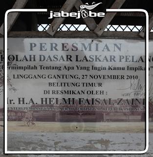 Replika SD Muhammadiyah Laskar Pelangi