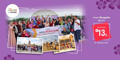 Paket Wisata Inner Mongolia