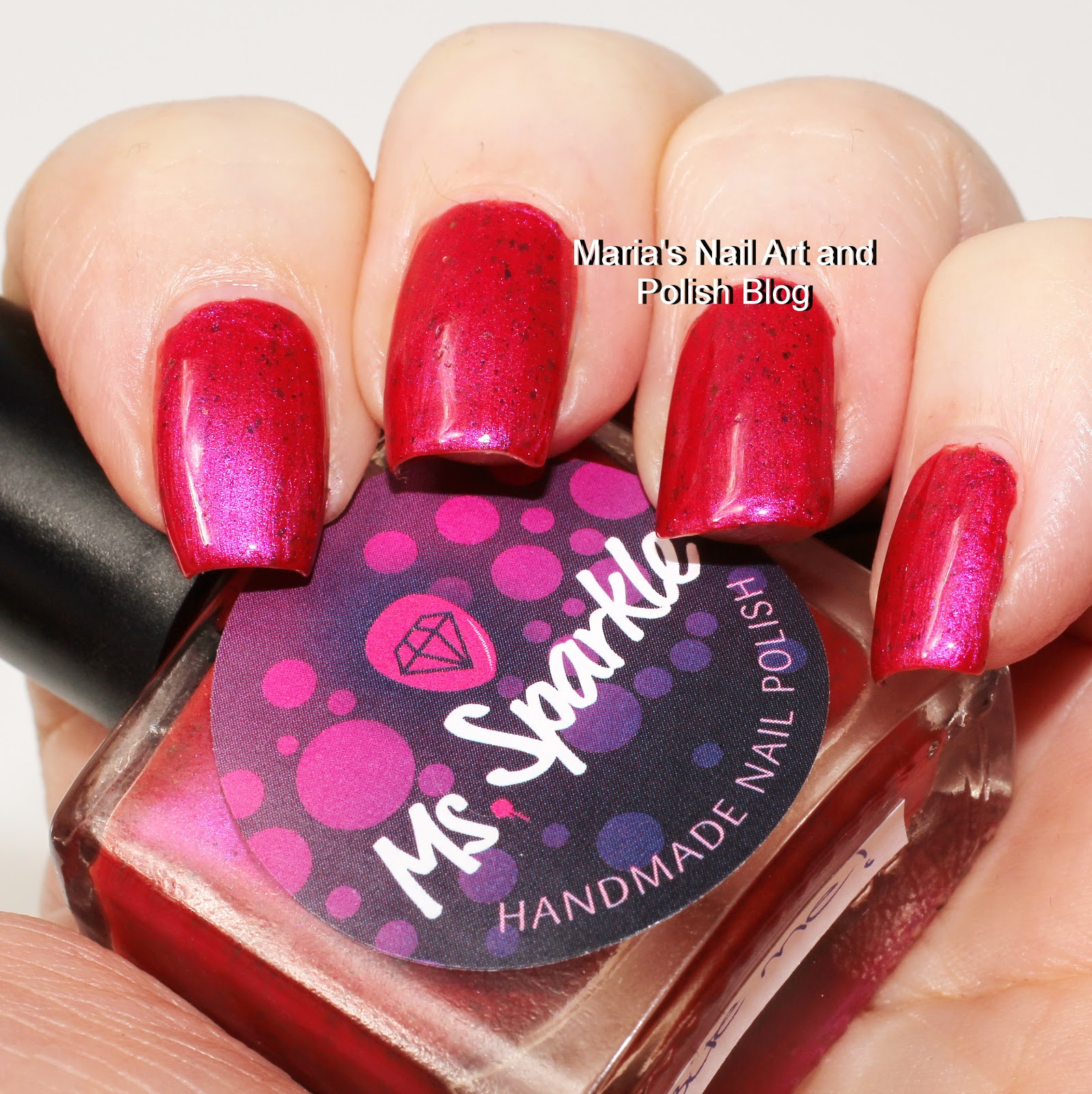 Anti Nail Biting Polish: Marias Nail Art And Polish Blog: Ms. Sparkle Bite Me Swatches