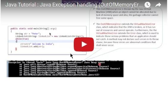 Java ee java tutorial java exception handling for Pool design pattern java