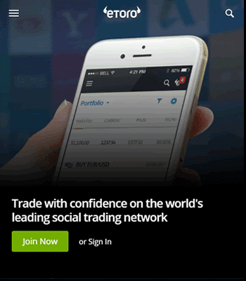 Get access to a variety of advanced charting tools with eToro Forex Trading