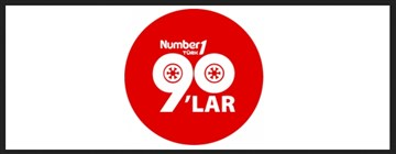 NUMBER 1 TURK 90'LAR