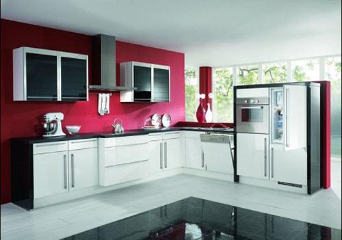 Sắm ngay tủ bếp Acrylic cho mùa hè này