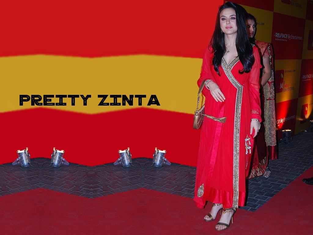 Priti Zinta Hot Wallpaper-8374