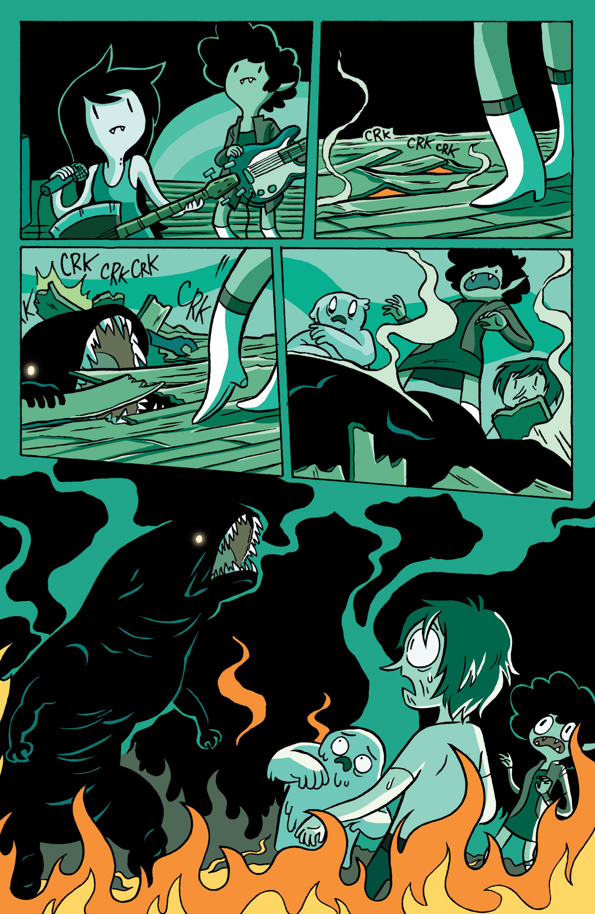 Read online Adventure Time: Marceline and the Scream Queens comic -  Issue #3 - 7